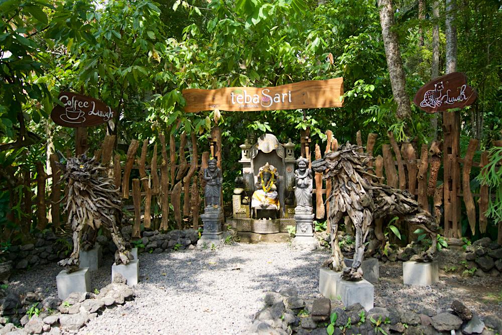 バリ島 Tanjung Sari Hotel 滞在記 その3 taba sari 外観