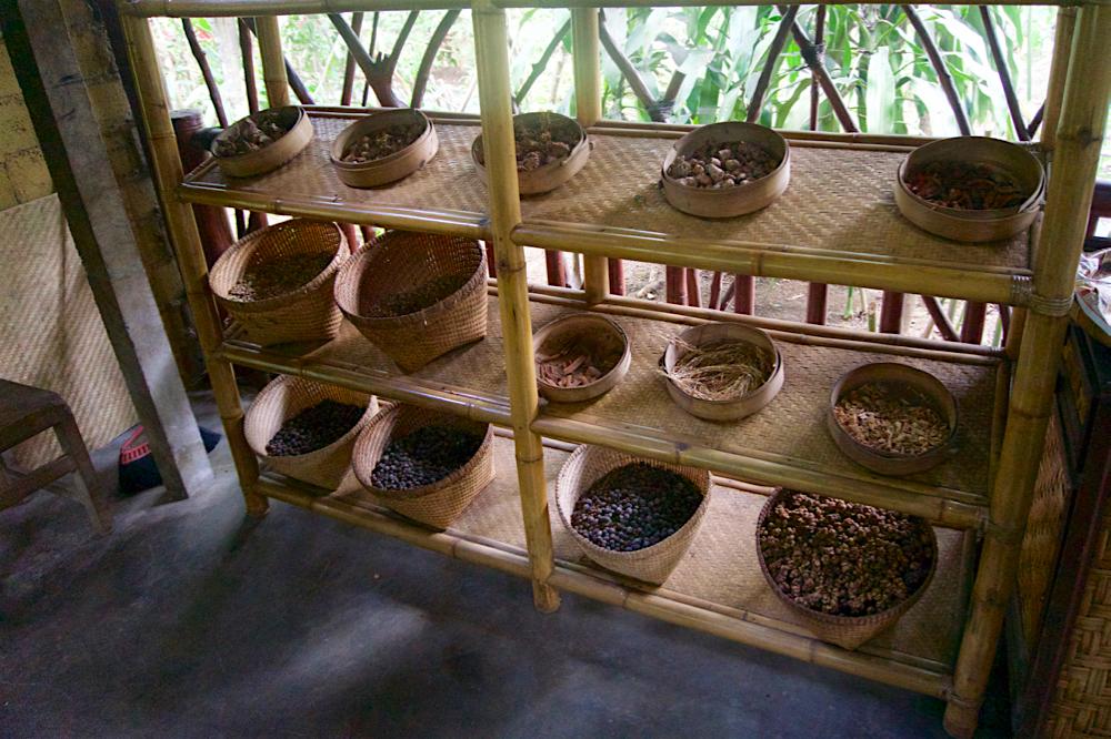 バリ島 Tanjung Sari Hotel 滞在記 その3 taba sari お茶