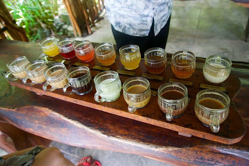 バリ島 Tanjung Sari Hotel 滞在記 その3 taba sari 試飲