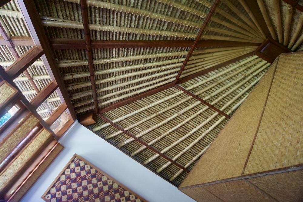 バリ島 Tanjung Sari Hotel 滞在記 その5 天井