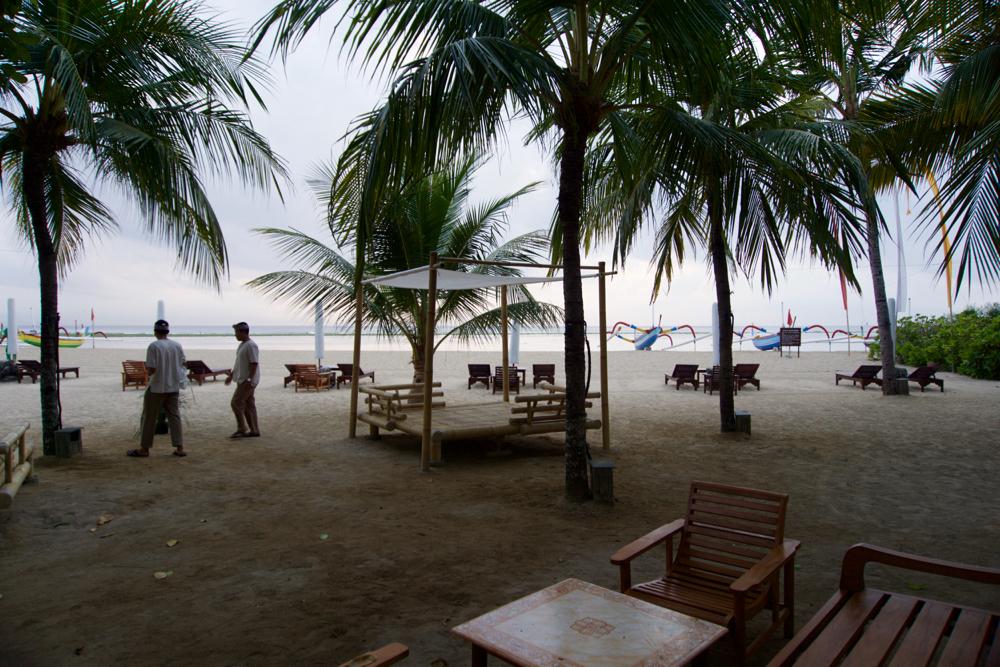 バリ島 Tanjung Sari Hotel 滞在記 その5 ビーチ
