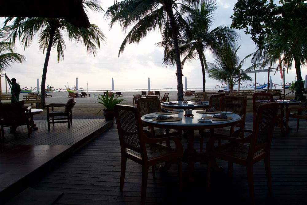 バリ島 Tanjung Sari Hotel 滞在記 その5 レストラン
