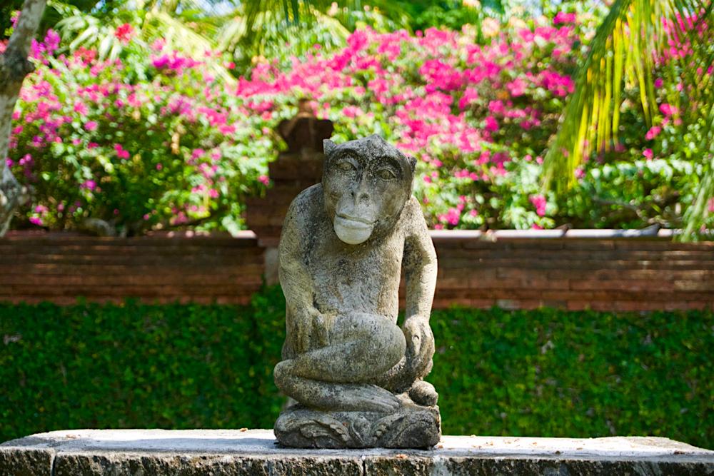 バリ島 Tanjung Sari Hotel 滞在記 その2 猿