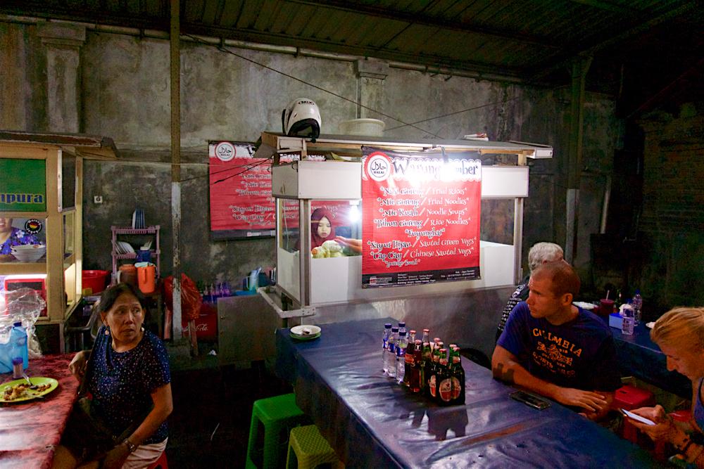 バリ島 Tanjung Sari Hotel 滞在記 その3 屋台1
