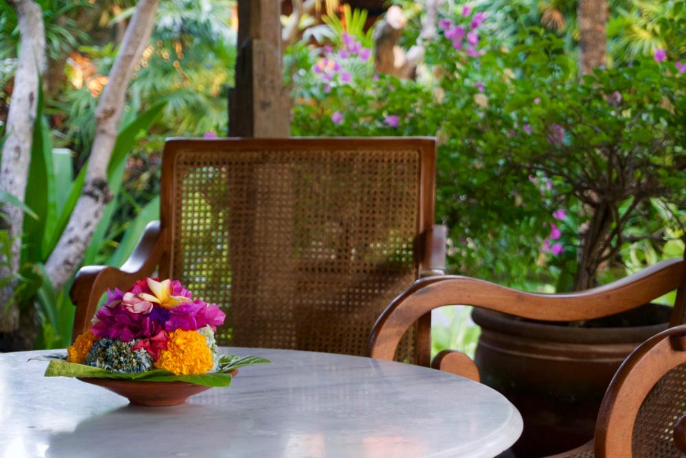 バリ島 Tanjung Sari Hotel 滞在記 その2 ロビー