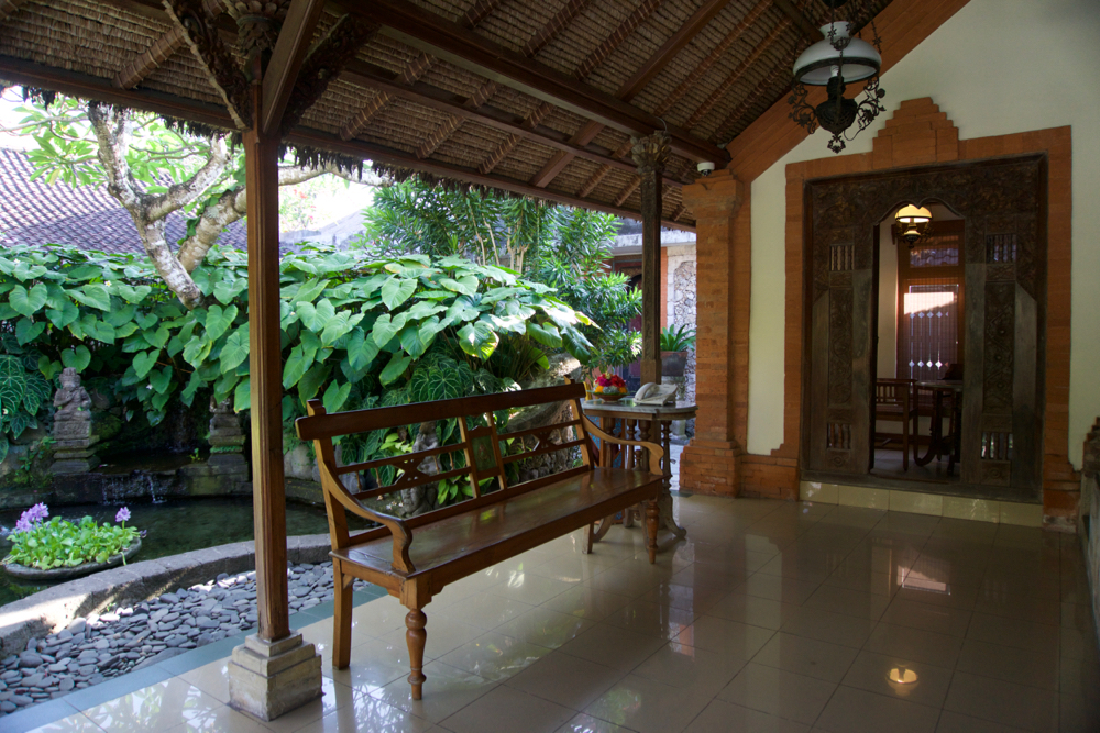 バリ島 Tanjung Sari Hotel 滞在記 その5 ロビー