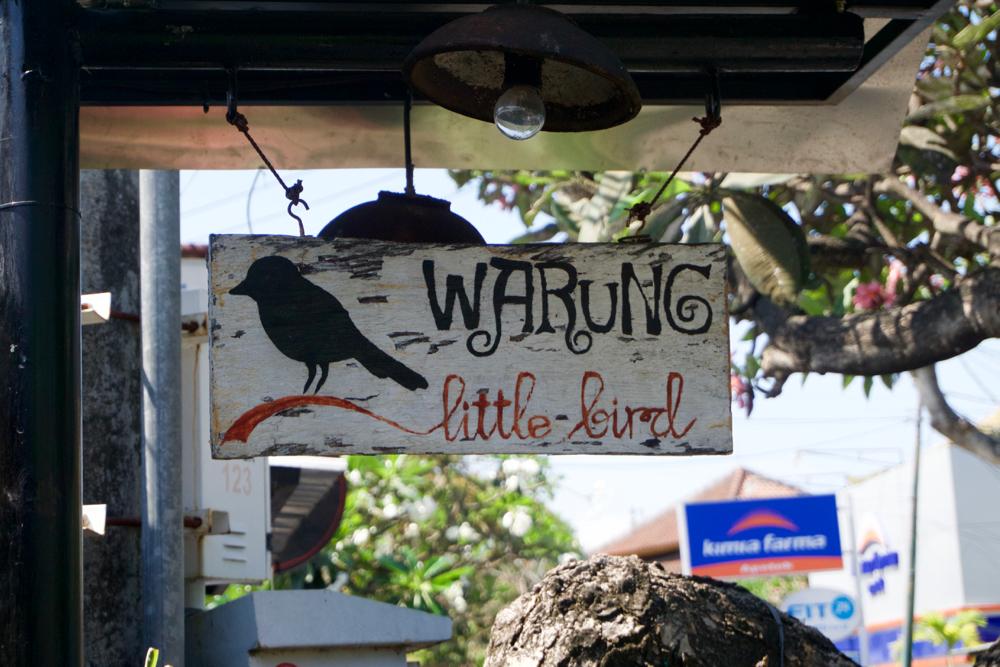 バリ島 Tanjung Sari Hotel 滞在記 その5 Warung Little Bird
