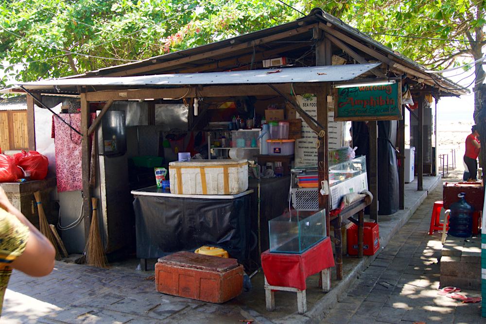 バリ島 Tanjung Sari Hotel 滞在記 その6 Warung Amphibia