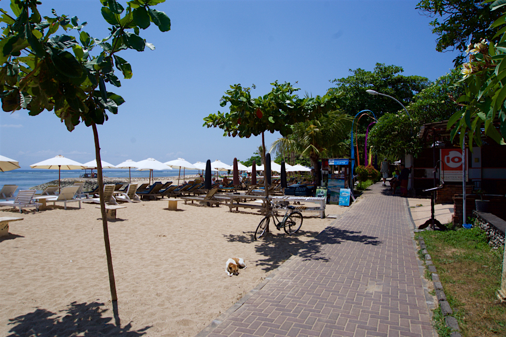 バリ島 Tanjung Sari Hotel 滞在記 その6 遊歩道