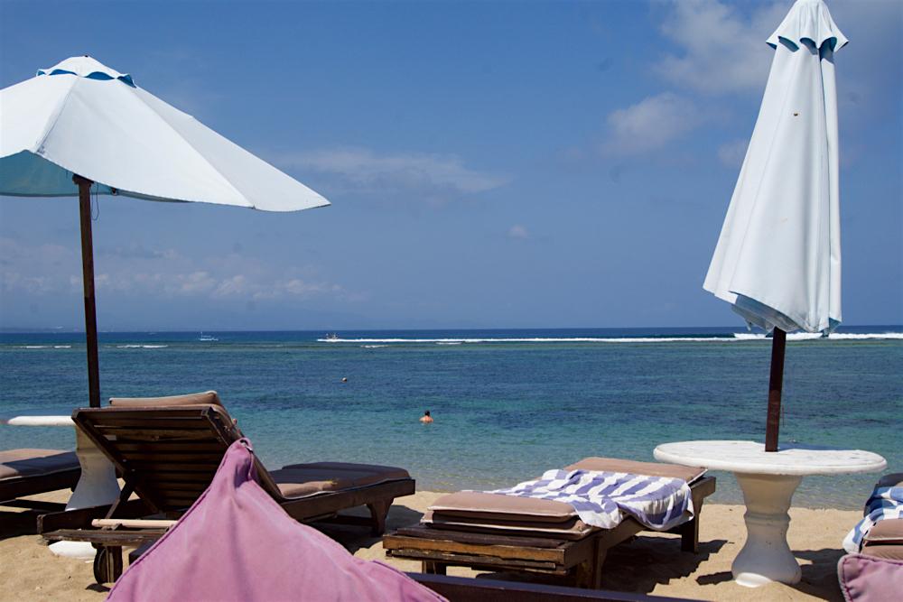 バリ島 Tanjung Sari Hotel 滞在記 その6  ビーチ4