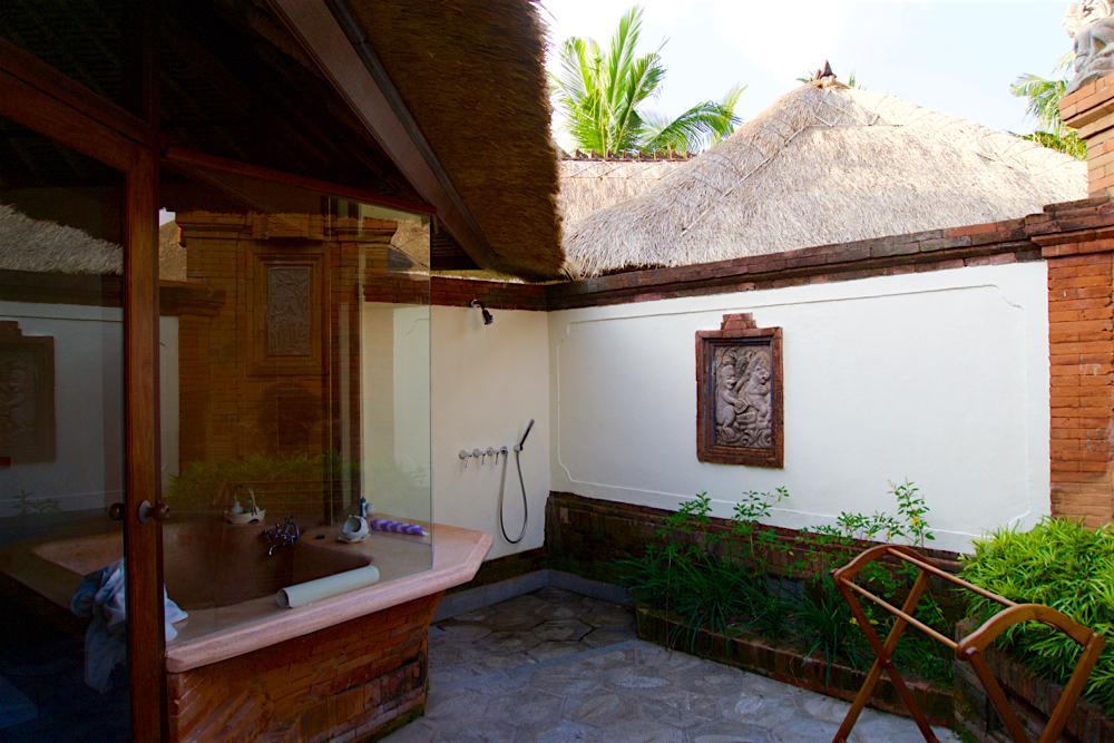 バリ島 Tanjung Sari Hotel 滞在記 その3 シャワー