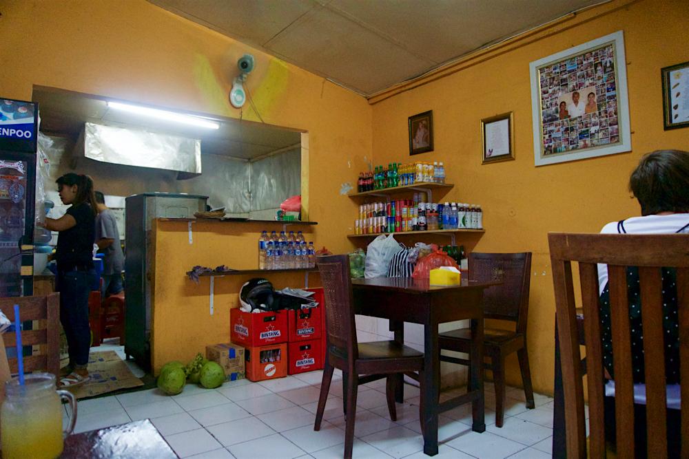 バリ島 Tanjung Sari Hotel 滞在記 その6 Warung Beringin 内観2