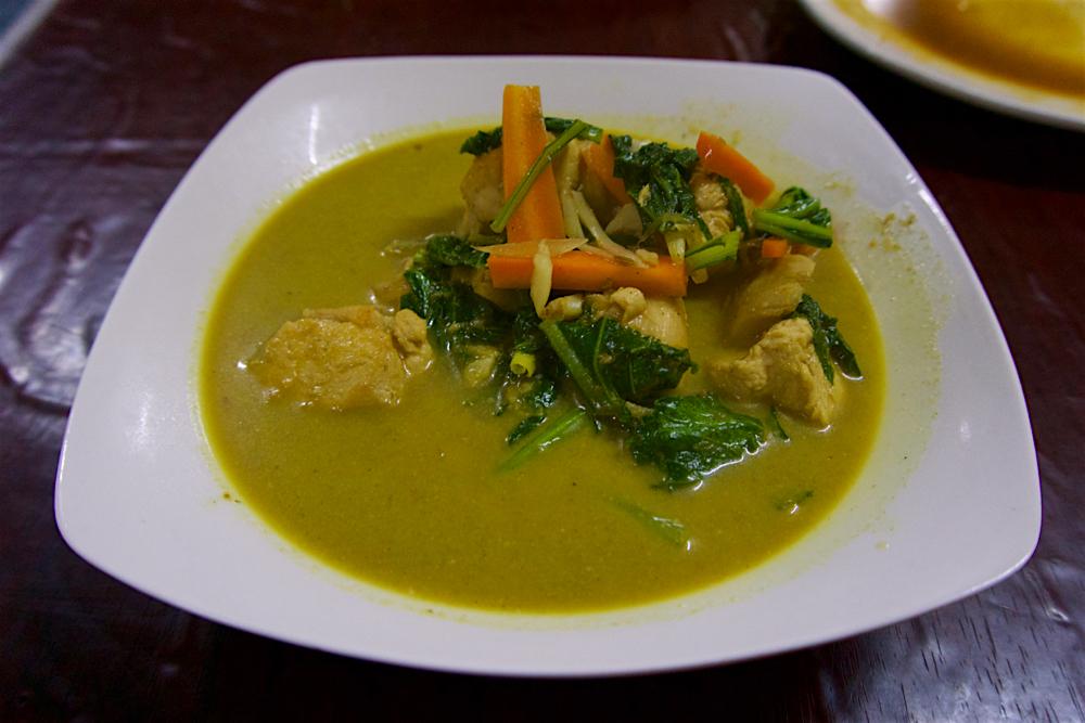 バリ島 Tanjung Sari Hotel 滞在記 その6 Warung Beringin Chicken Curry