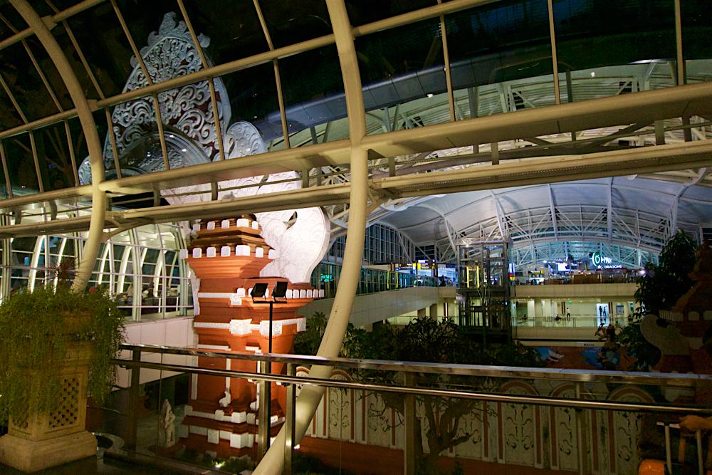バリ島 Tanjung Sari Hotel 滞在記 その6  デンパサール国際空港