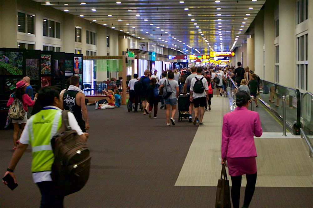 バリ島 Tanjung Sari Hotel 滞在記 その6 デンパサール国際空港2