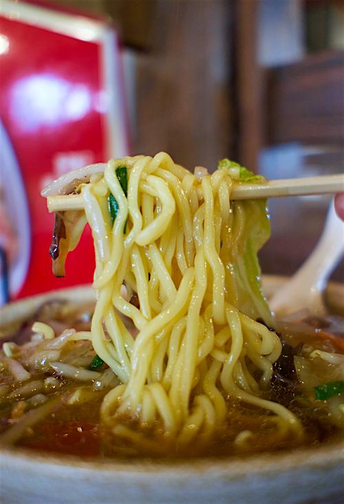 ラーメン本舗 紅一点@宇都宮市上戸祭 麺
