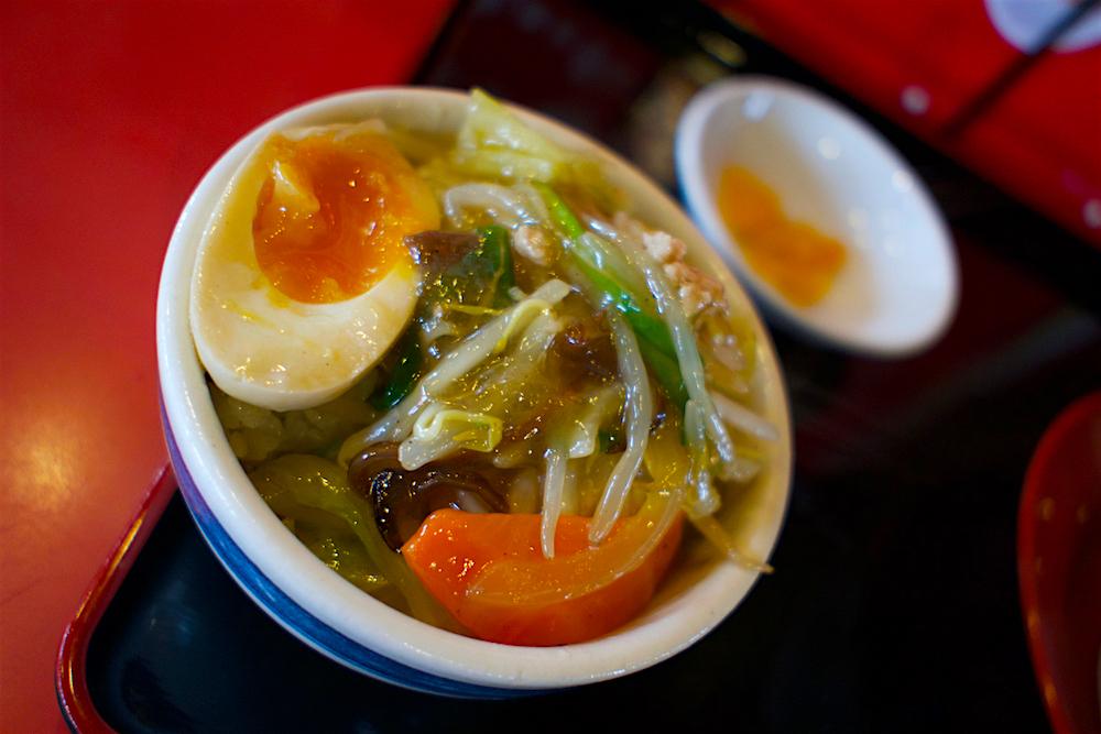 ラーメン本舗 紅一点@宇都宮市上戸祭 アンディー特製中華丼
