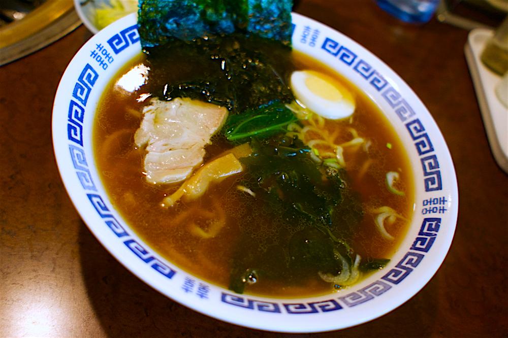 焼肉みやま@宇都宮市野高谷町 煮干しラーメン