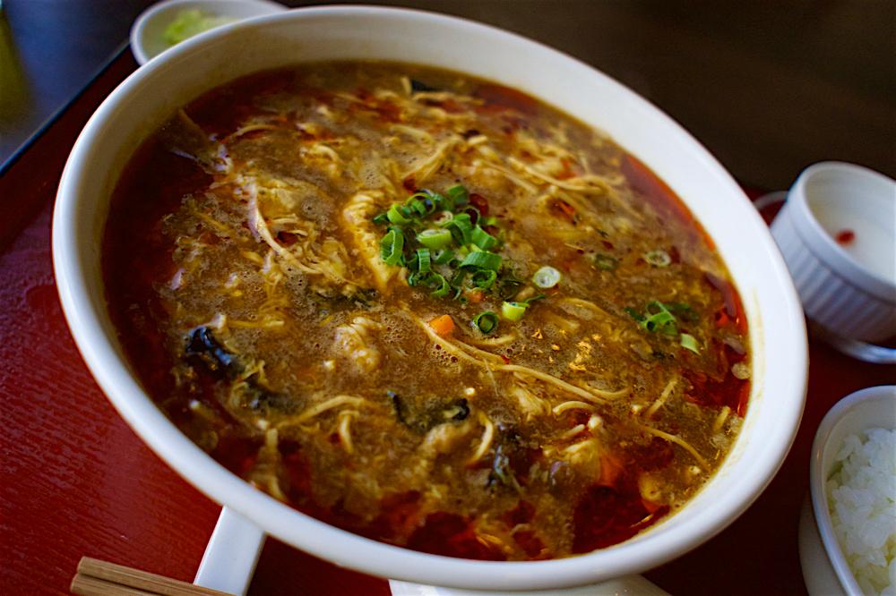 中華晩餐庁 満大人@宇都宮市池上町 スーラー湯麺