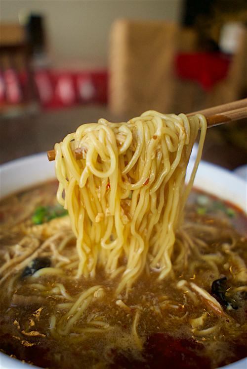 中華晩餐庁 満大人@宇都宮市池上町 麺