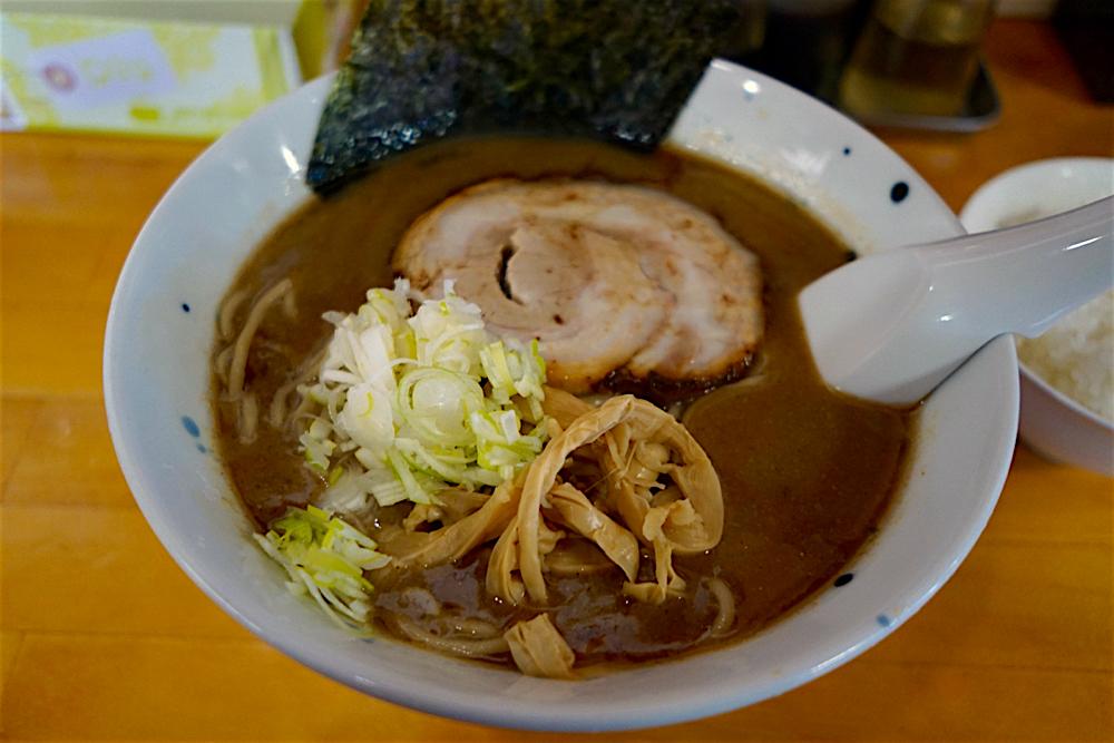 麺屋 三井@栃木市大平町 醤油とんこつラーメン