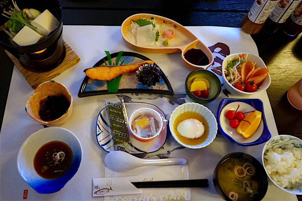 いわき湯本から~の、北茨城巡り うお昭 朝食