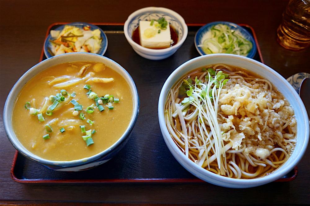 そば善@宇都宮市平松本町 2 カレー丼セット