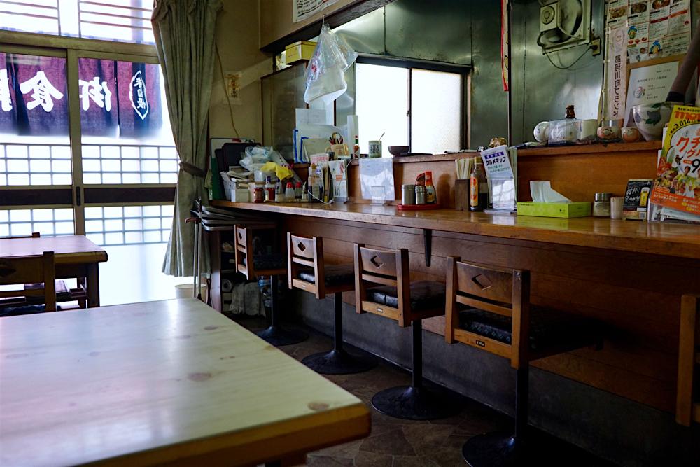 まんぷく食堂@那珂川町馬頭 内観