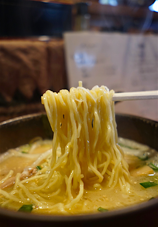 らぁ麺 神成@那珂川町馬頭 麺