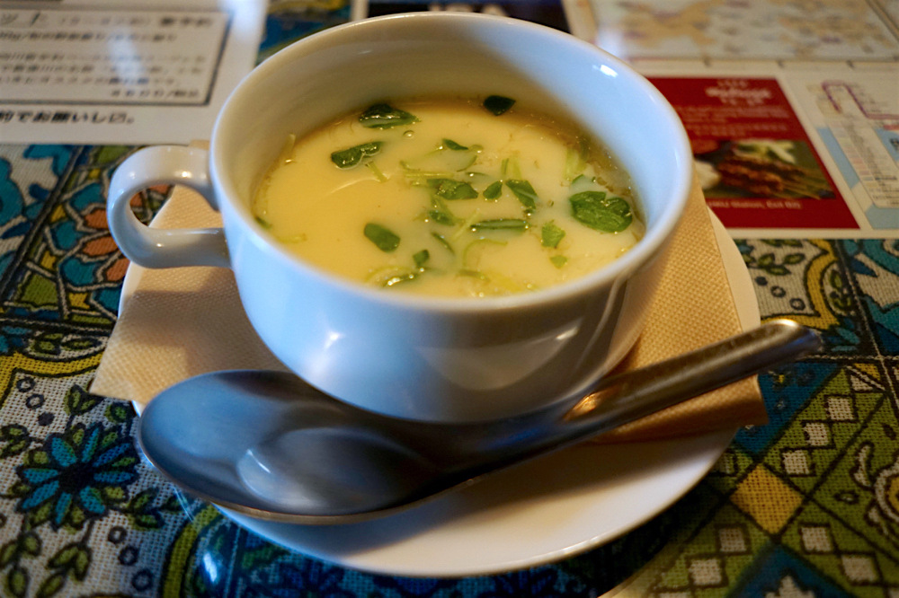 bamboo forest kichien @宇都宮市宝木町 茶碗蒸しスープ