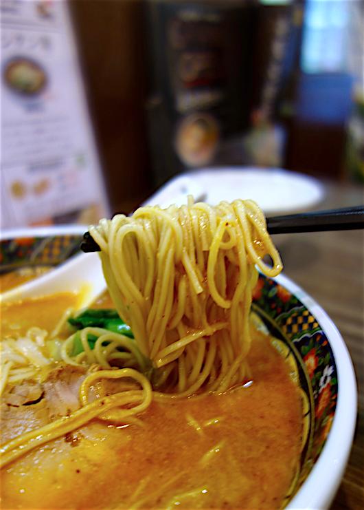 寿限無担々麺@宇都宮市馬場通り 麺