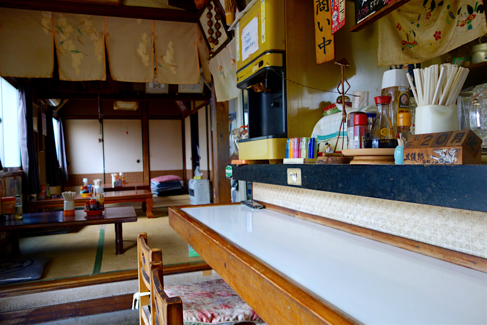 きらく食堂@那珂川町大山田 内観