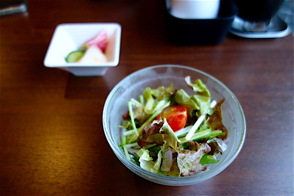 小籠包・中華料理 芙籠@宇都宮市本町 サラダ&小鉢