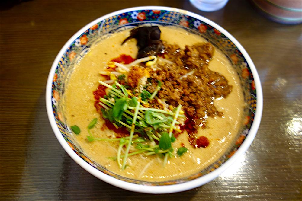 焙煎胡麻工房 タンタン本舗@宇都宮市西原町 濃厚タンタン麺