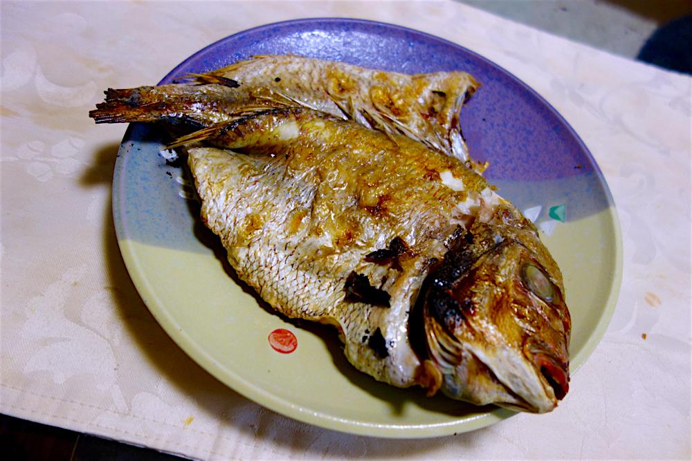 らーめん厨房 どる屋@宇都宮市中央 11 一夜干し鯛