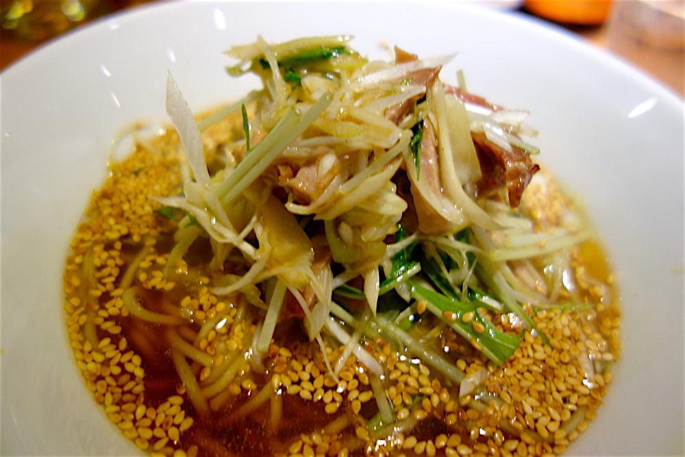 中華 RiN@下野市川中子 ネギとチャーシューの汁そば2