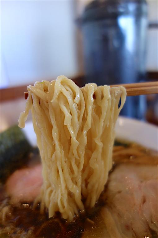 中華そば松井@小山市松沼 麺