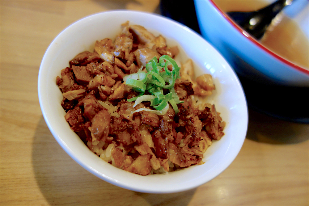 麺屋虎龍@宇都宮市ゆいの杜 2 チャーシュー丼