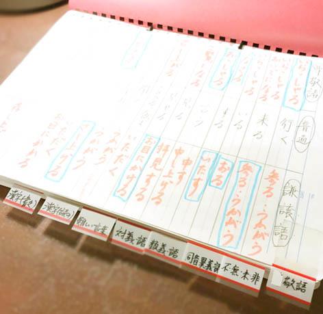 国語復習帳1