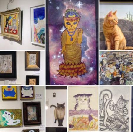 ギャラリー来舎 神無月の猫たち