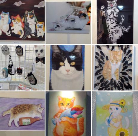 Gallery CATS ねこ展 冬