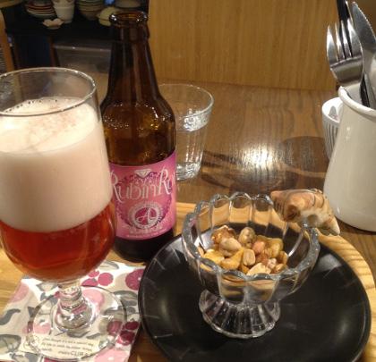 紫イモのビール