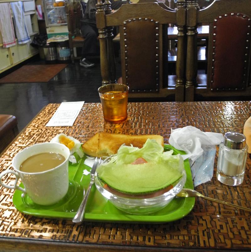 喫茶「レスト」のモーニング(呉駅苗)