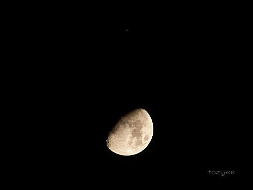 20190908 月と土星の大接近報告写真