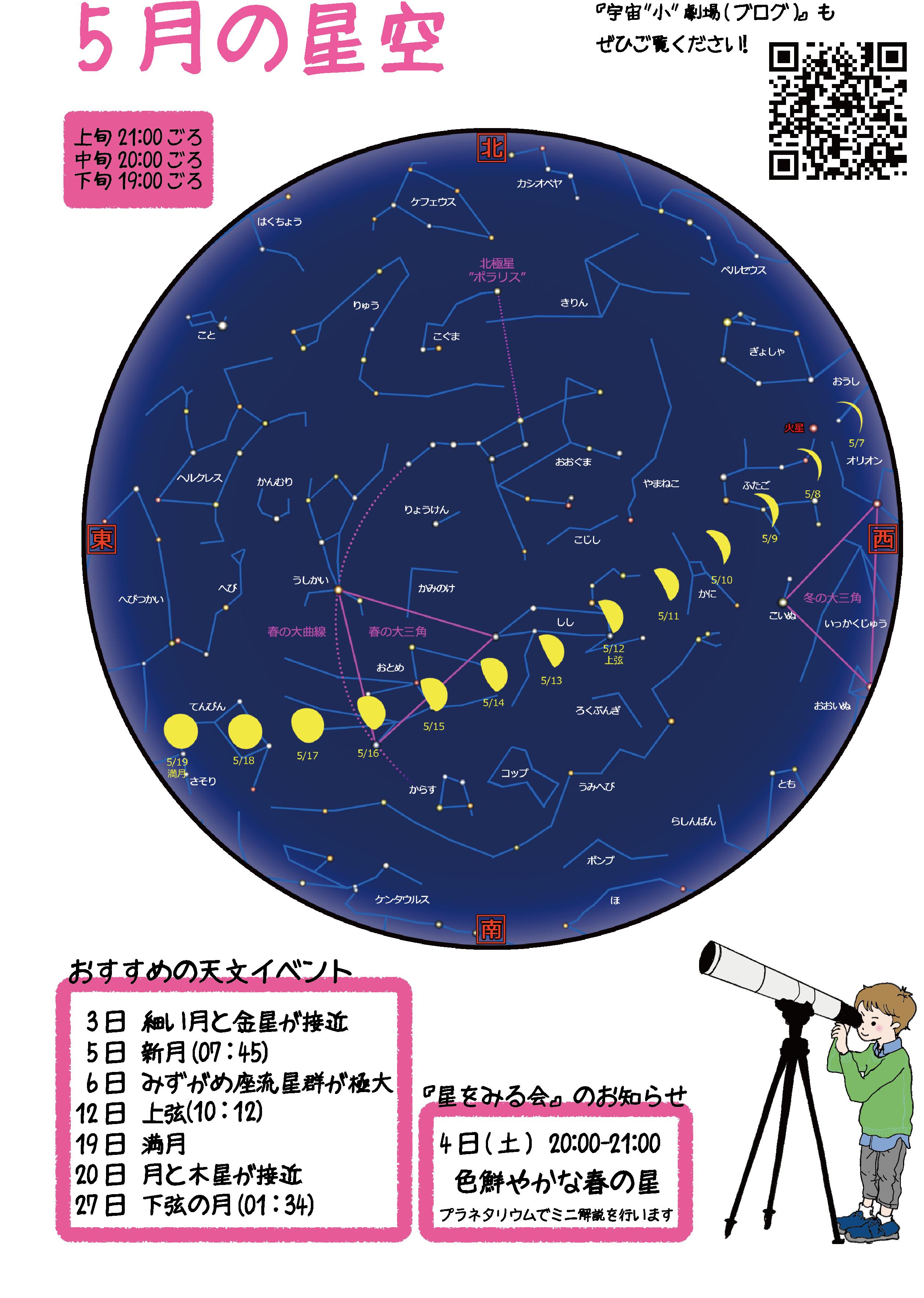 5月の星空