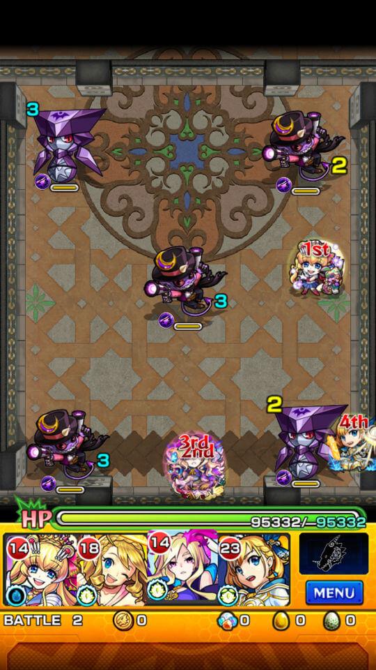 覇者の塔20階battle2