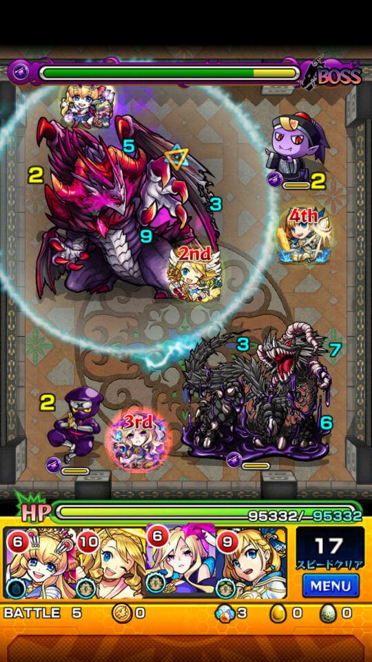 覇者の塔20階battle5