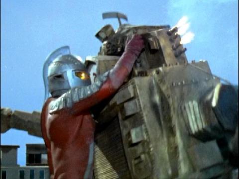 『ウルトラセブン』 第38話 「勇気ある戦い」