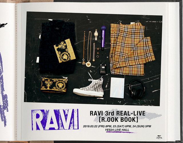 RAVI 3rd REAL-LIVE ROOK BOOK Poster