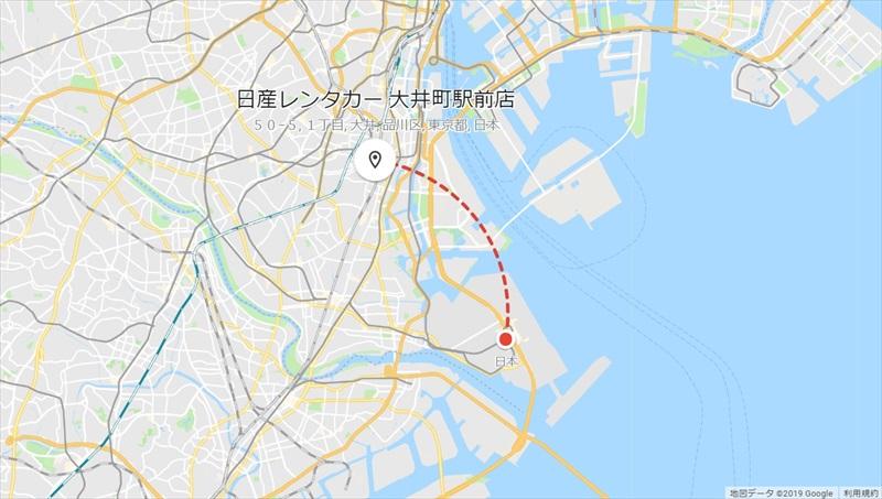 20190427_羽田空港→日産レンタカー大井町_R
